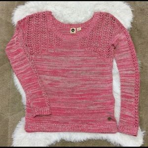 Roxy pink coral Crew Neck Pullover S
